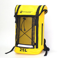 25L Waterproof Bag PVC Dry Sack Outdoor Camping Climbing Hiking Shoulder Bag Pack River Tracing Rafting Waterproof Backpack