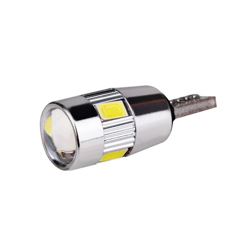 HTB1atoAdBGE3KVjSZFhq6AkaFXac 2x T10 W5W Car LED Turn Signal Bulb Canbus Auto Interior Dome Reading Light Wedge Side Parking Reverse Brake Lamp 5W5 5630 6smd