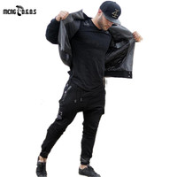 High Fashion Men S Cargo Jogger Pants Cotton Male Bodybuilding Fitness Pants Casual Trousers Sweatpants For