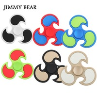 JIMMY BEAR 1 Pcs Fire Wheel EDC Fidget Spinner Metal Hand Spinner For Autism And ADHD