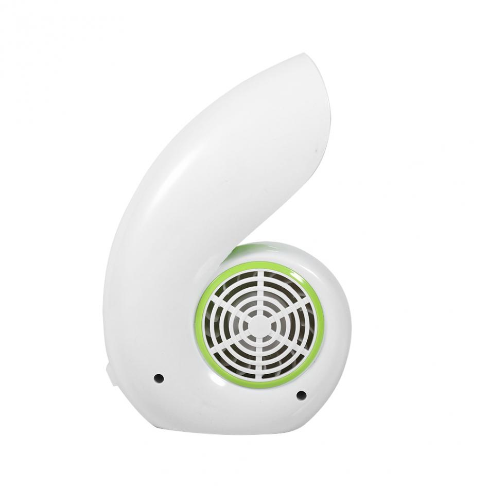 Portable Mini USB Ventilador Recargable Air Conditioner Fan No Leaf Bladeless Cooling Cooler Handheld Sea Snail Electric Fan portable handheld mini usb cooling fan bladeless household no leaf air conditioner fans electric conditioning cooler office home