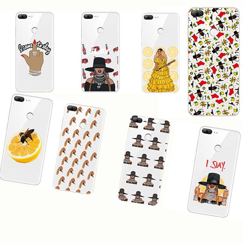 phone cases Cartoon characters Beyonce Lemonade Hold Up Formation I SLAY soft silisone Cover for huawei p8 p20 lite plus pro p9