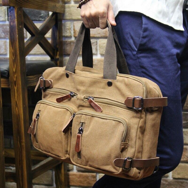 Tidog прилив мужской сумка портфель сумка через плечо холст портфель