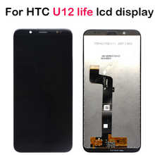 Lcd display for HTC U12life U12 life LCD Display +Touch Screen Digitizer Assembly repair part 100%test for HTC u12 life display - DISCOUNT ITEM  13% OFF Cellphones & Telecommunications