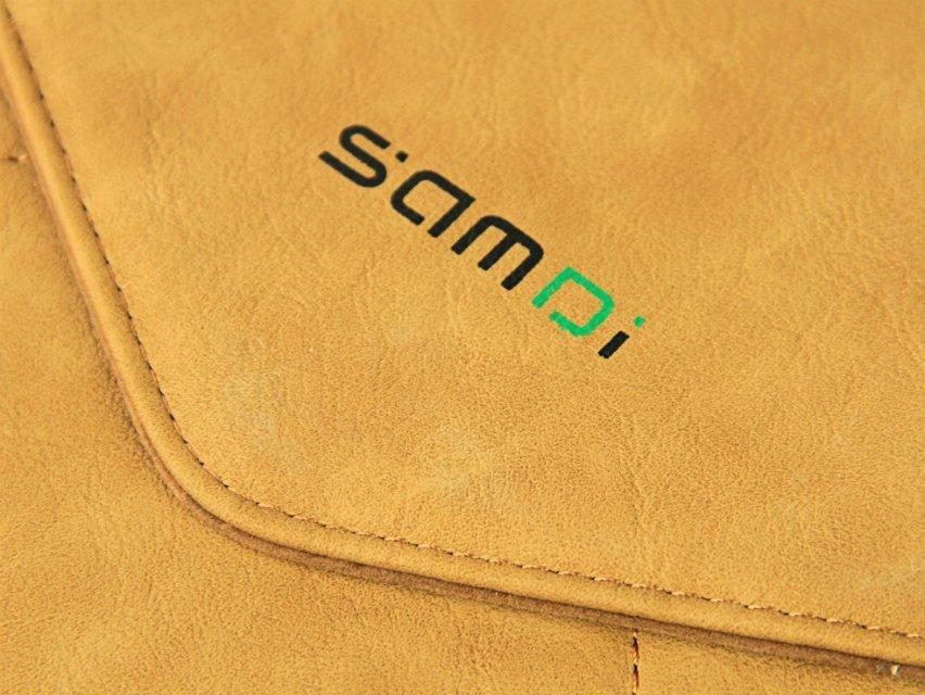 Nueva funda protectora de la manga del bolso del sobre de cuero retro - Accesorios para laptop - foto 3