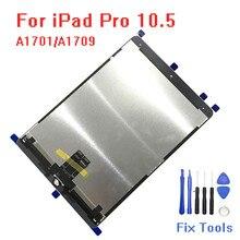 Оригинальный Для iPad Pro 10,5 ЖК-дисплей A1701 A1709 сенсорный экран стеклянная матрица сенсорный экран планшет для цифрового преобразователя в сборе