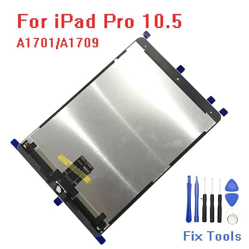 Original Para iPad 10.5 Pro Display LCD A1701 A1709 Matriz de Vidro Da Tela De Toque Digitador Da Tela de Toque Tablet Montagem