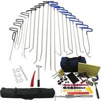PDR инструменты крючки Пружинные стальные стержни вмятин удаление автомобиля вмятин ремонт автомобиля комплект для ремонта кузова безболез