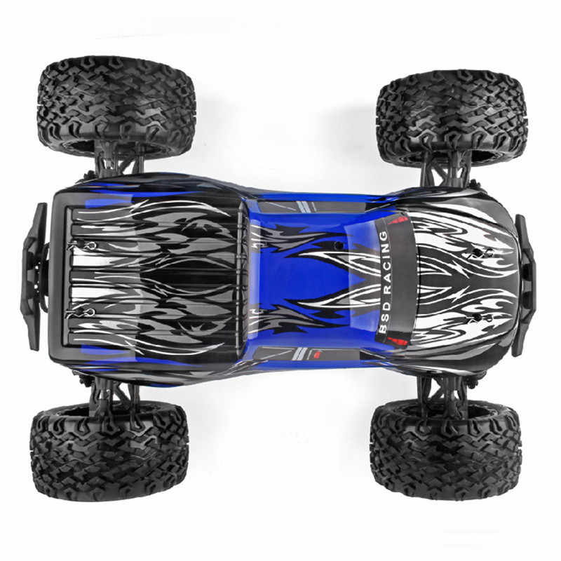 BSD Racing BS810T 1/8 2.4G 4WD 70 กม./ชม. 4 S Brushless Rc Car Off - Road รถบรรทุก RTR ชุดของเล่นรถ VS CR-218R/503 T/709 T