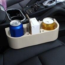 Supporto di Tazza auto Auto Interni Organizer Portable Multifunzione Sedile Del Veicolo Gap Tazza di Bottiglia di Bevanda Telefono Del Supporto Del Basamento Scatole
