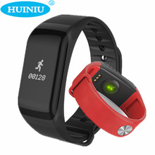 Huiniu F1 Спорт умный Браслет Часы Шагомер сердечного ритма Мониторы SmartBand Приборы для измерения артериального давления смарт-браслет для Android IOS Телефон
