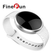 Finefun L58 смарт-браслет для Android IOS с дистанционным Камера anti-потерял Bluetooth 4.0 SmartWatch группа мужчин женская спортивная часы