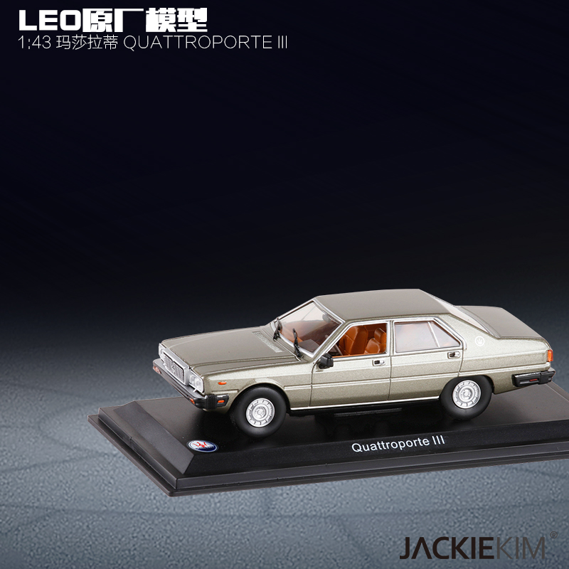 Collection Model 1/43 QuattroporteIII Alloy Model Car Decoration Model Toy