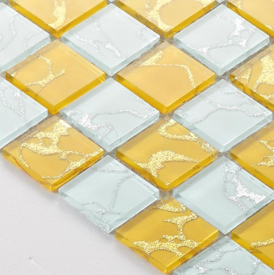 Beautiful 12X12 Black Ceramic Tile Tall 1X1 Ceramic Tile Regular 3X6 Beveled Subway Tile 3X6 White Subway Tile Bullnose Youthful 6 X 12 Porcelain Floor Tile Orange9X9 Floor Tiles Yellow White Gold Foil Crystal Mirror Glass Mosaic Tiles HMGM2011A ..