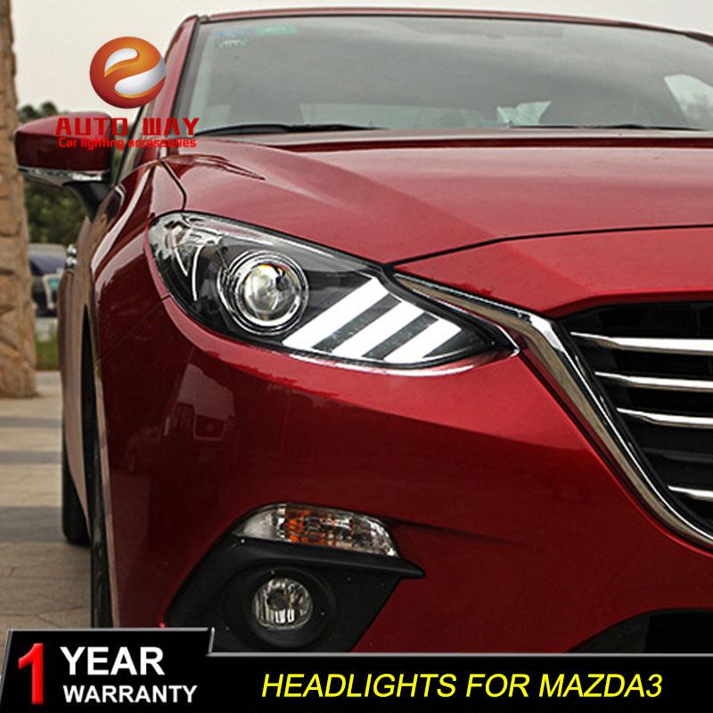 գործը Mazda 3 mazda3 Axela 2014 2015 2015 լուսարձակ LED - Ավտոմեքենայի լույսեր - Լուսանկար 5