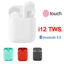 i12 tws Mini Wireless Headphones Bluetooth 5.0 earphone Sport Headset 3D Stereo music Earbuds for iphone Samsung All Smart Phone best top touch ytom gw15 true wireless headphones bluetooth 5 0 tws earphone 5 hours music time mini sport earbuds for phone pc