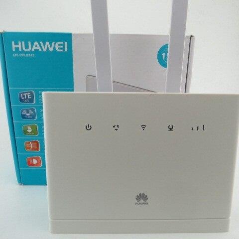 Набор Разблокировать Huawei B315, huawei 4g портативный беспроводной маршрутизатор huawei b315s-22 lte wi-fi маршрутизатор + 2 шт. 4 г SMA антенны