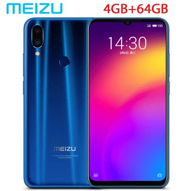 "New arrival meizu Note 9 48.0mp Camera 4GB RAM 64GB ROM 4G LTE Snapdragon 675 Octa Core 6.2"" 2244x1080p FHD Fingerprint"