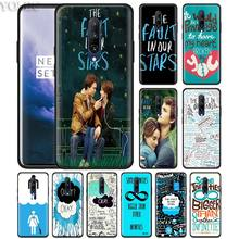The fault in our stars Okay Phone Case for Oneplus 7 7Pro 6 6T Oneplus 7 Pro 6T Black Silicone Soft Case Cover