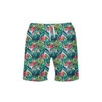 Hawaii Print Mens Swim Shorts Swimming Trunk New Swimsuit Beach Pants Swimwear Men Surf Board Short Beach Shorts De Plage Homme