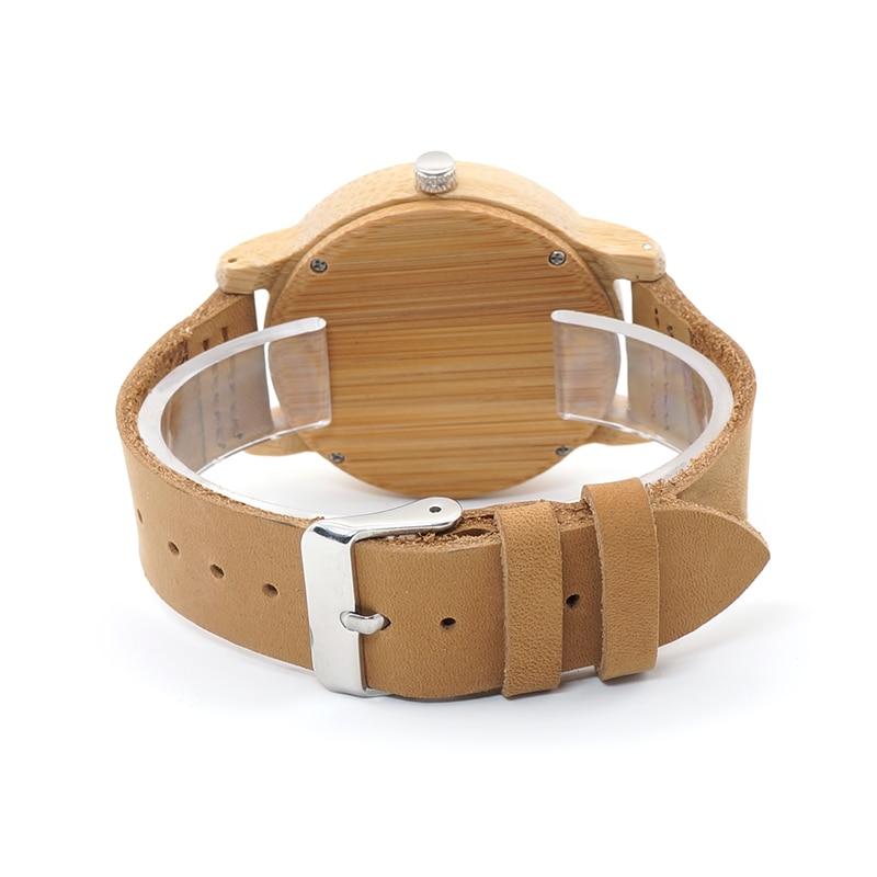 Бобо птица всего Бамбука часы для мужчин женщин Скелет олень самец оленя головы дизайн дерево кварцевые часы relogio masculino C-A27