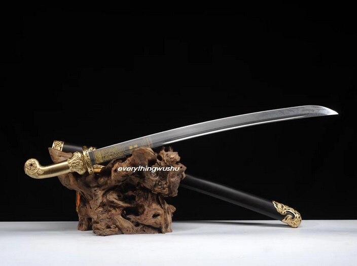 Eerlijkheid Premium Qing Dao Taille Zwaarden Wushu Zwaarden Chinese Sabels Verkoop Van Kwaliteitsborging