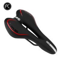 PCycling Bicycle Saddle Seat Gel Cushion Seat Super Soft Wide Saddle MTB Mountain Bike Bicycle Cycling