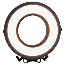 New Professional C-318RLS 10″ Bi-color LED Edge Ring Light for Camera Photo Stepless Dimmable Photographic Lighting Video Lamp