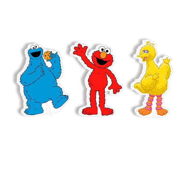 Elmo Table Decoration Centerpiece Kids Birthday Party Supplies Decorations Cookie Monster