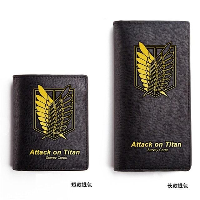 Аниме кошелек Атака Титанов Эмблема отряда разведки 2