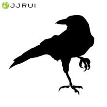 JJRUI Ворон Дрозд виниловые наклейки в виде Фотообоев c переводными картинками Стикеры птица ноутбук окна выбрать Цвет стены Стикеры s