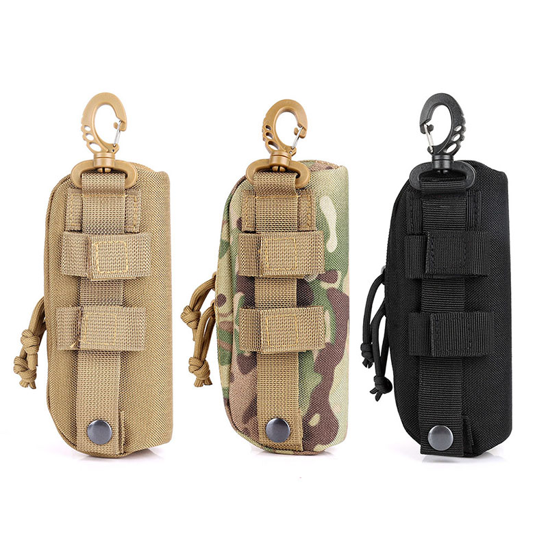 Outdoor Tactical Molle Sunglasses Case Outdoor Portable Hard Clamshell  Anti-Shock 1000D Nylon Carry Glasses Case1
