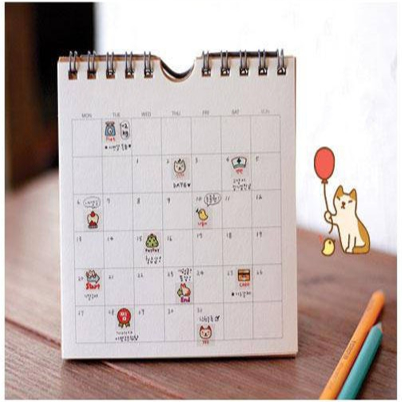 G209 Korean stationery cute cat DIY diaries transparent decorative sticker entry Stationery office supplies for students image