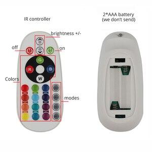 Image 5 - โทรศัพท์ APP และรีโมทคอนโทรล RGB LED Strip 220 V 220 V ไฟกันน้ำ LED Strip Light 60 LEDs/M 5050 ริบบิ้น ledstrip เทป IL