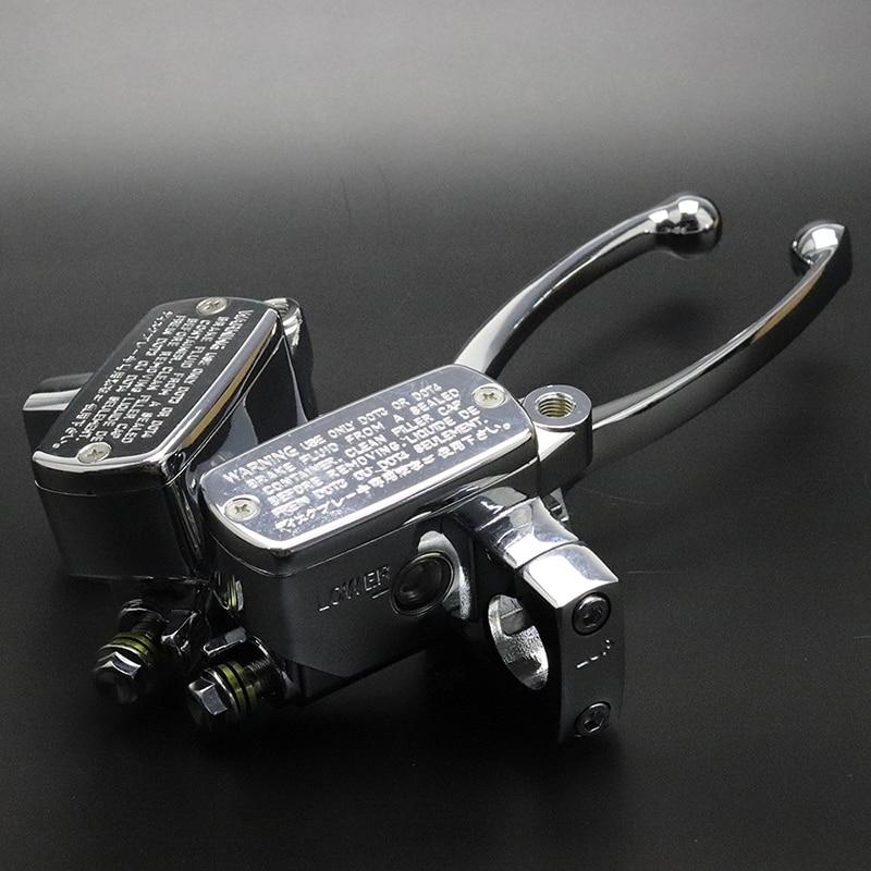 Chrome Brake Master Cylinder Clutch Lever For Suzuki Intruder 800/1400/1500 Boulevard C90 S50 S83 Kawasaki Vulcan VTX 1800