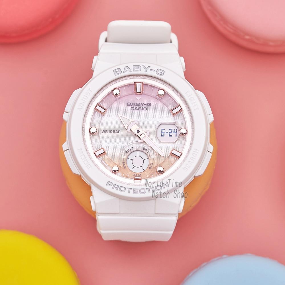 Casio watch BABY G Women 39 s quartz sports watch Sports waterproof Girl series baby g Watch BGA 250 in Women 39 s Watches from Watches