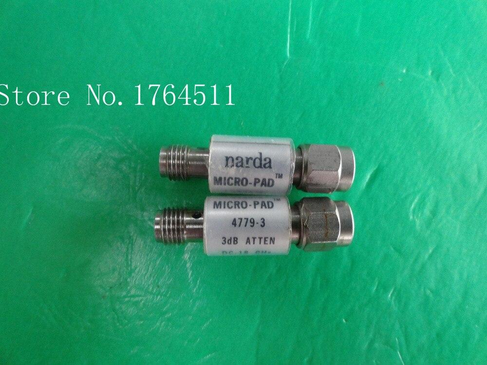 [BELLA] NARDA 4779-3 DC-18GHz Att:3dB P:2W SMA Coaxial Fixed Attenuator