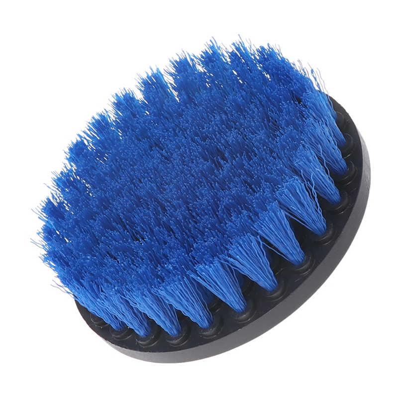 5 Drill Cleaning Brush Heavy Duty With Stiff Bristles For Carpet Car Mats New