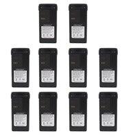 10PCS HNN9013D HNN9013 1800mAh Li ion battery for MOTOROLA Radio GP340 GP380 GP680 HT1250 HT750 GP328 PRO5150 MTX850 PR860