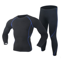 2016 New Winter Thermal Underwear Sets Outdoor Sports Polartec Long Johns Warm Thermo Underwear For Men