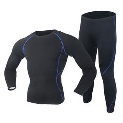 2019 جديد الشتاء الرجال ملابس اخلية حرارية مجموعة Polartec مرونة المخملية طويلة جونز سميكة الدافئة الحرارية الملابس الداخلية تنفس الجوارب 3XL