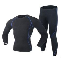 2019 جديد الشتاء الرجال ملابس اخلية حرارية مجموعة Polartec مرونة المخملية طويل جونز سميكة الدافئة الحرارية داخلية تنفس الجوارب 3XL