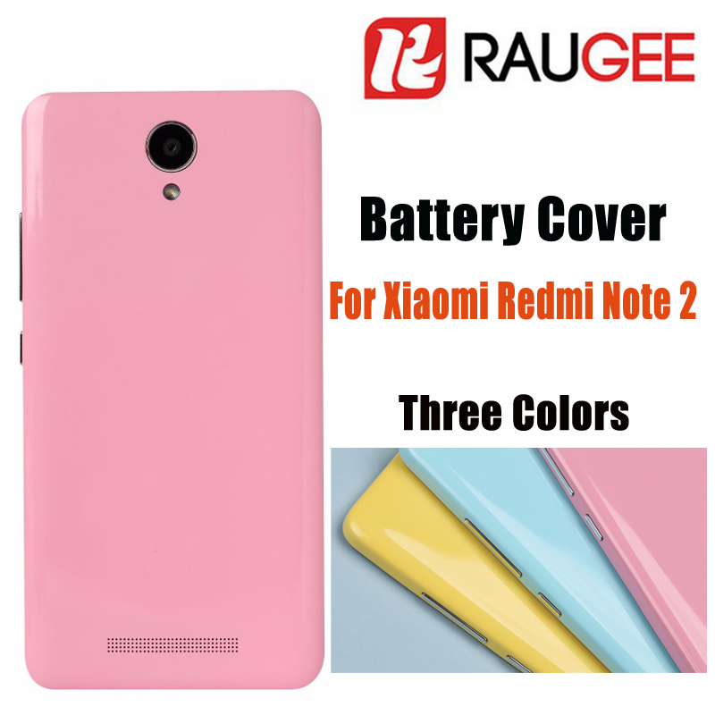 2016 New Smartphone Accessories For XiaoMi HongMi Note2 Battery Cover Redmi Note 2 Mobile Phone Battery Cover+Free shipping