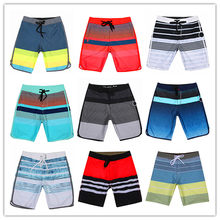 New Arrivals 2019 Brand Fashion Phantom Elastic Spandex Beach Board Shorts Men Swimwear Mens Bathing Shorts Couples Swimtrunks(China)