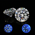 AAAAA Round Brilliant Cut 8 hearts and 8arrows White color Synthetic Cubic Zirconia Loose CZ Stone 1000pcs for one bag