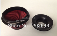 2688-2 air  filter and velocity stack with 3.5 or 4 neck ,red, special style ,support wholesale retail