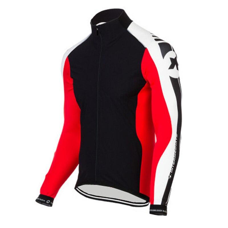 Цена за Quick Dry Анти пот Задействуя Джерси С Длинным Рукавом Осень Весна Одежда Bicicleta MTB Велосипедов Майо Ciclismo Ropa Hombre as06