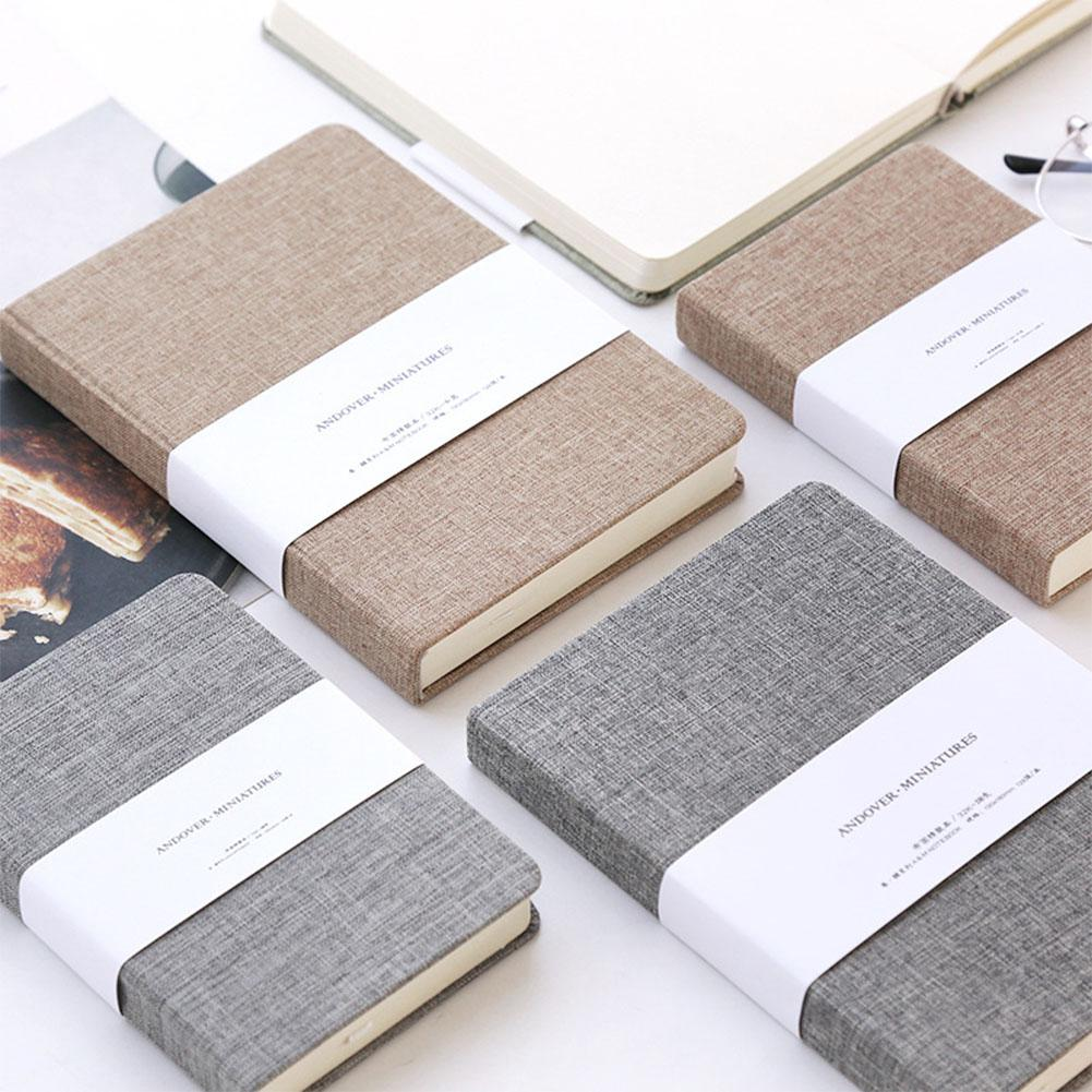 Cloth Notebook Weekly Schedule Efficiency Manual Cute Personal Diary Planner School Office Supplies Stationery
