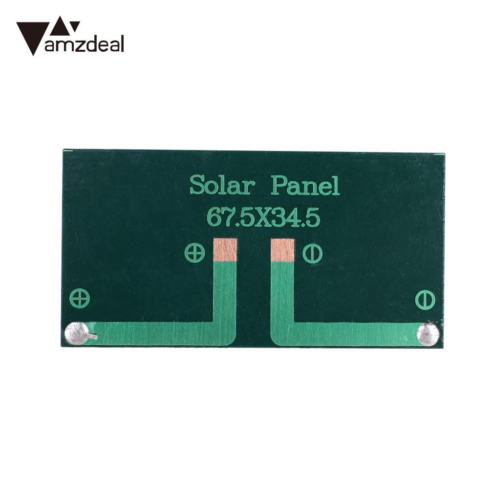 Solar Power Mini 5v 150ma 0.75w Solar Panel Polycrystalline Solar Cells Supply Power Panel Module Diy Battery For Cell Phone Toy Chargers