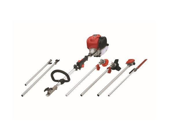 GX35 Petrol Strimmer Grass Trimmer Brush/Bush Cutter Whipper Snipper Multi pole chain saw,pole hedge trimmer6 in 1